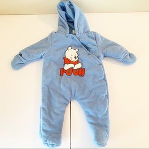 Winter baby outfit